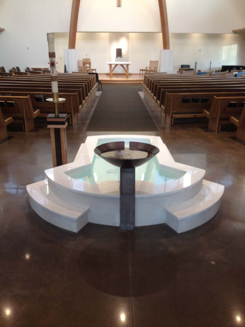 Baptismal Pool Keiser Or Natural Stone Designs